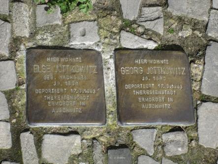 Stolpersteine in Berlin-Schöneberg